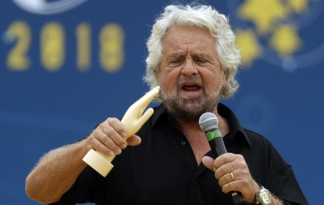 Grillo contestato