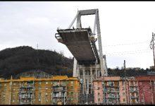 Genova, ponte Morandi. Foto ANSA