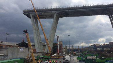 Ponte Genova - Foto ANSA