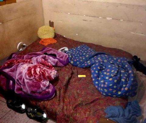 Immigrati in appartamento Via Padova, Milano- Foto ANSA