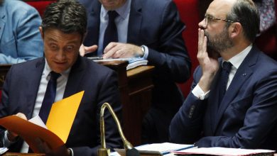 Premier francese Edouard Philippe. Foto ANSA