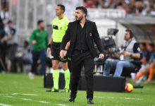 Gattuso, allenatore del Milan. Foto ANSA