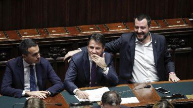 Di Maio - Conte - Salvini