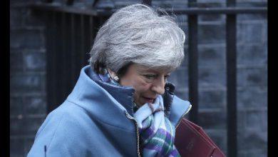 Brexit, colloquio telefonico tra Giuseppe Conte e Theresa May. Foto ANSA
