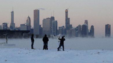 Gelo record negli Usa. Foto ANSA