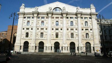 Borsa di Milano. Foto ANSA