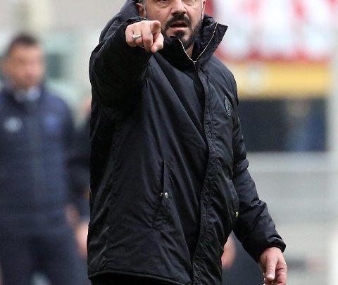 Rino Gattuso. Foto ANSA