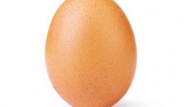 Instagram, il nuovo record di like va alla foto di un uovo