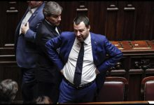 Matteo Salvini. Foto ANSA