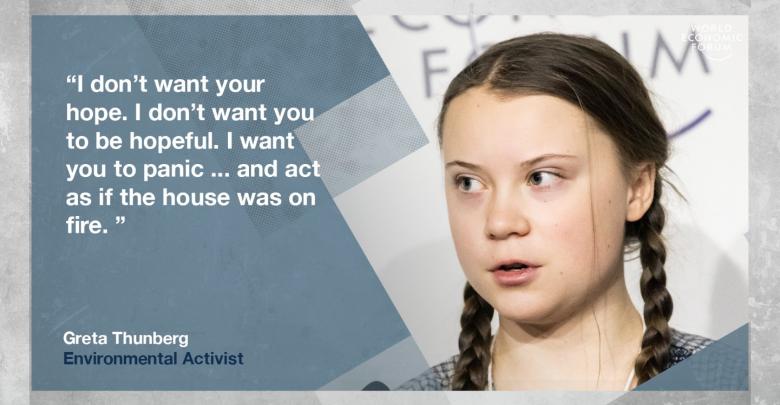 Greta Thunberg al World Economic Forum
