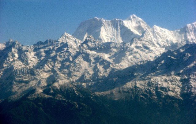 L'Himalaya. Foto ANSA