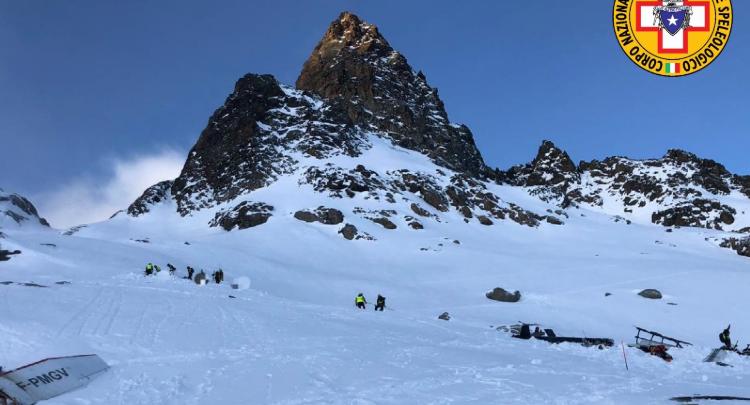 Incidente aereo in Valle d'Aosta