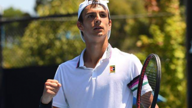 Musetti Australian Open Junior