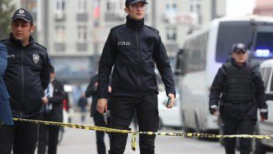 Polizia turca. Foto ANSA