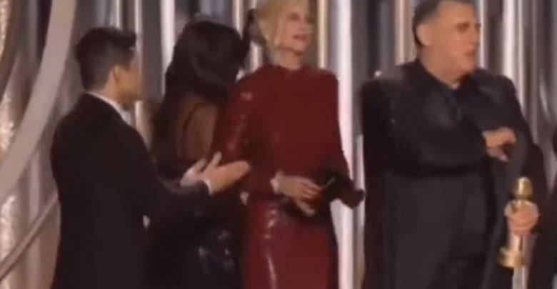 Rami Malek ignorato da Nicole Kidman