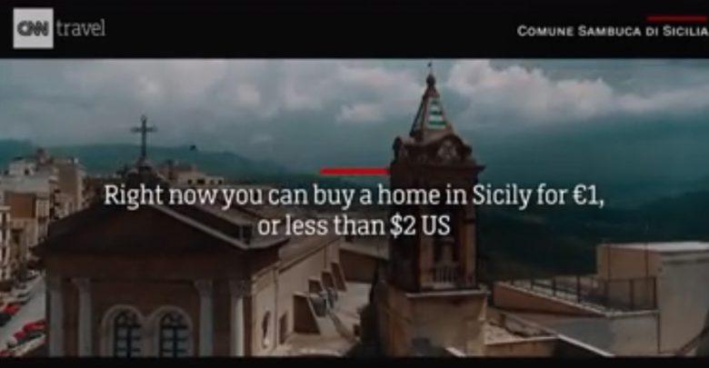 Case in vendita a un euro a Sambuca di Sicilia: dopo un servizio andato in onda sulla CNN è arrivato un boom di richieste da tutto il mondo