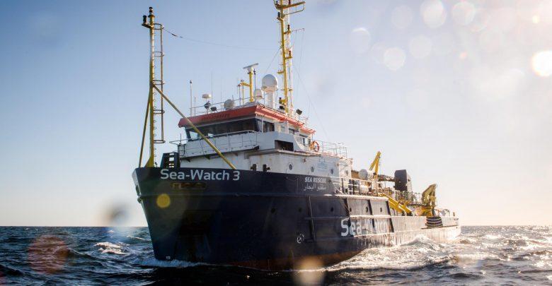 La nave Sea Watch 3. Foto ANSA