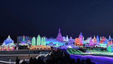 Cina, il festival delle sculture di ghiaccio e neve