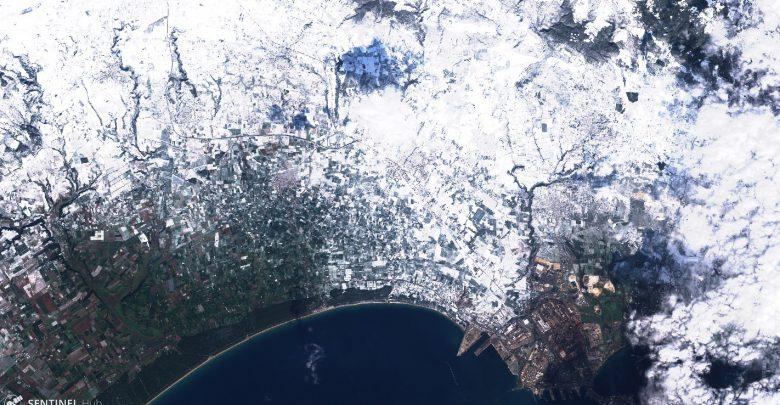 Meteo, neve in arrivo sul medio e basso Adriatico