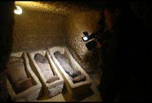 Egitto, scoperto un sito con 40 mummie