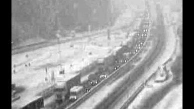 Caos neve sul Brennero