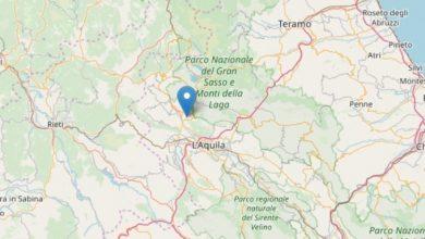 Terremoti, scossa 3.6 nell'Aquilano