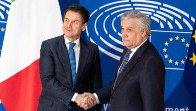 Tav, Conte incassa l'appoggio del presidente del Parlamento europeo Antonio Tajiani