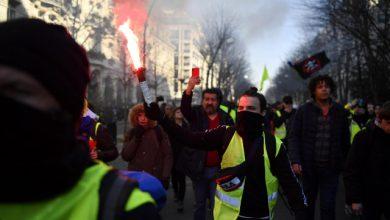 Gilet Gialli, 11.600 manifestanti in tutta la Francia. Foto ANSA