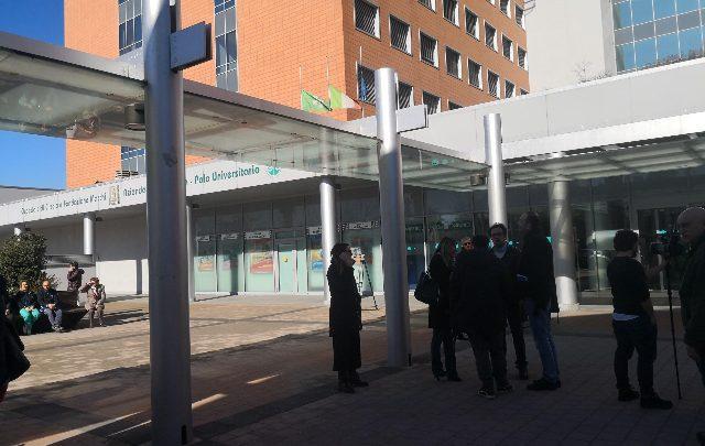 Umberto Bossi in ospedale