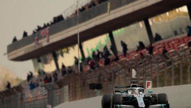 Lewis Hamilton, test Montmelò