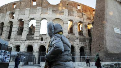 Maltempo, vento Roma