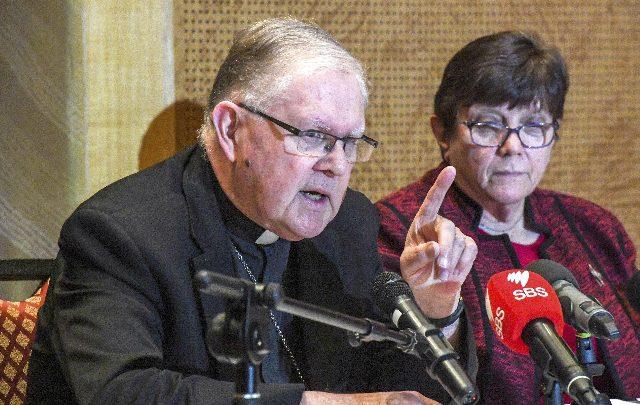 Arcivescovo Coleridge indagato per aver coperto abusi su minori. Foto ANSA