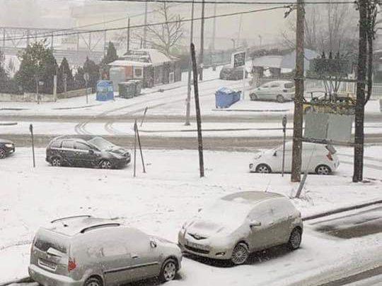 Neve in Grecia