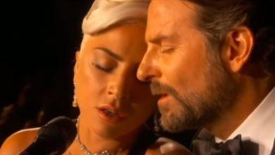 Lady Gaga e Bradley Cooper in Shallow sul palco degli Oscar