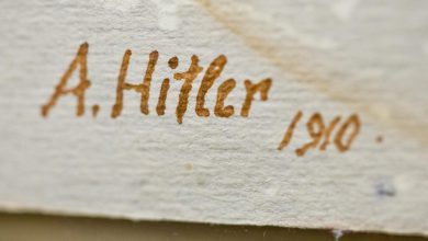 Dipinti di Adolf Hitler all'asta in Germania