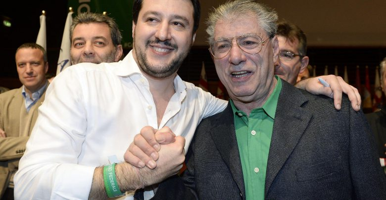 Umberto Bossi Salvini Lega