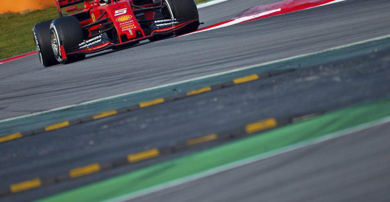 F1 Ferrari di Vettel