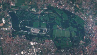 Monza dal satellite Sentinel-2