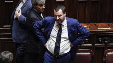 Matteo Salvini Mar Jonio