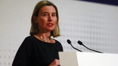 Unione europea, Mogherini si schiera contro la violenza in Venezuela. Foto ANSA