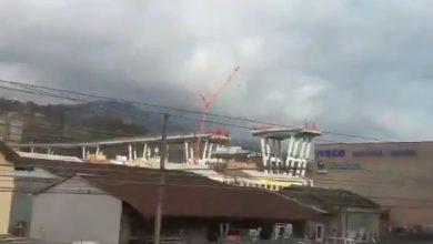 Demolizione del Ponte Morandi