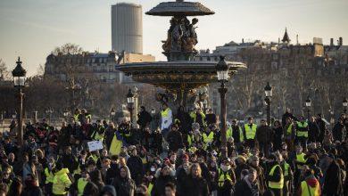 Gilet gialli black bloc Parigi