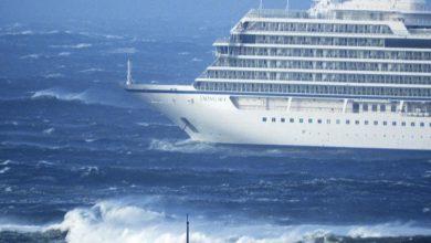 Norvegia, nave da crociera in avaria