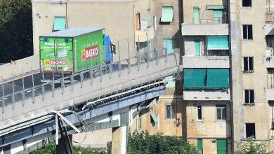 camion Basko ponte morandi