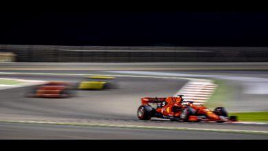 F1 Bahrain Vettel