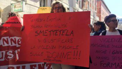 Stupro, sentenza choc, flash mob ad Ancona