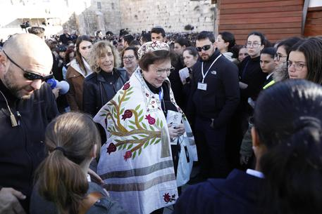 Israele donne Muro del Pianto