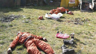 Incendio Givoletto volontari foto