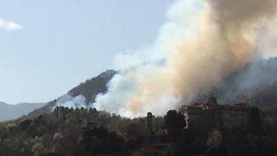 Incendio a Belmonte, santuario patrimonio Unesco in pericolo