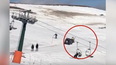 Trentino, anziano con jeep sulla pista da sci